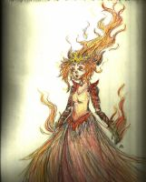 Flame queen by Vintageowl1232