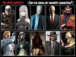 Can You Guess My Favourite Characters? by The-Nelo-Angelo