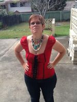 Morrigan of Dragon Age Inspired Necklace by Morninglight2