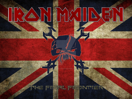 Iron Maiden - Union Jack TFF by croatian-crusader