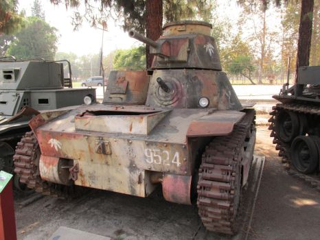 Type 95 replica by Transportphotos
