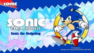 Sonic the Comic : Sonic by adamis