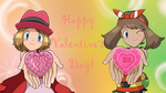 Happy Valentine's from May and Serena! by Call-Of-The-Indie