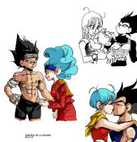 VEGETA AND BULMA STUFF by Sandra-delaIglesia