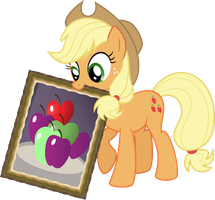 Applejack Art by rainbownspeedash