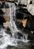 Waterfall - stock 4 by Angband