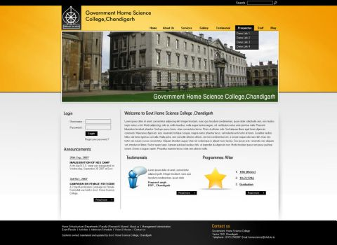 Govt. Home Science College by mistryputt