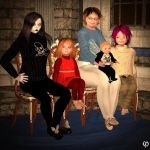 Euthie, Janet and kids by Chronophontes