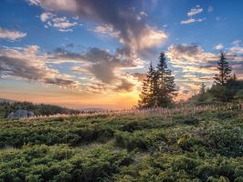 Vitosha Sunset by Pipera
