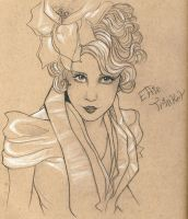 Effie Trinket by Ookami-SeaEmpress