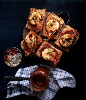 Shrimp Bruschetta by sasQuat-ch