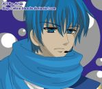 Kaito Close Up by White-Blanche