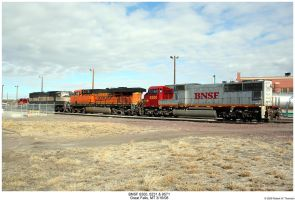 1 Railroad, 3 Paint Schemes by hunter1828