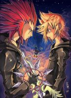 Axel and Roxas: Broken Memorie by ELK64