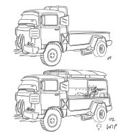Radical War Truck WIP by hanonly1