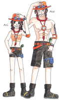 Ace + Aci by zoro4me3