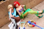 Kingdom Hearts Princess Warriors by shelle-chii