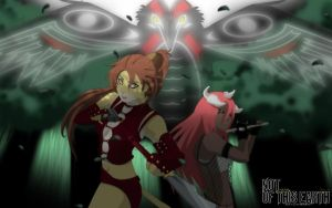 COMMISSION: PAGAN and TAYUYA by annria2002