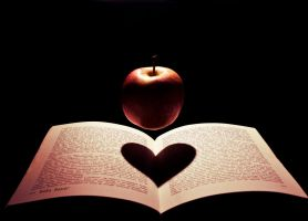 love to read? eat fruit :P by BaBaBaker