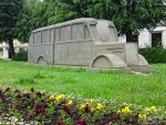 Monument of the Grey Buses by PaSt1978