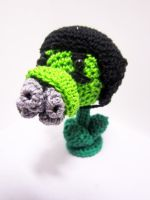 PVZ: Gatling Pea by Nissie