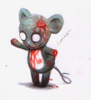 Zombie Mouse by kikitue