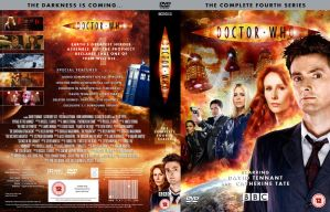 DOCTOR WHO SERIES 4 DVD COVER by MrPacinoHead