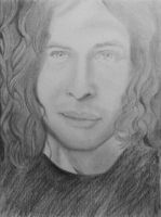 Ray Toro Sketch by Andrelica