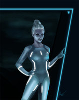 Tron - Gem by elz-art