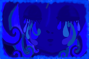 Blues2c by MinorasPatchworkArt