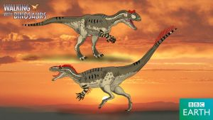 Walking with Dinosaurs: Allosaurus by TrefRex