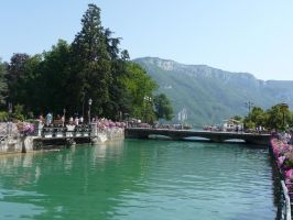 Annecy View by Rikitza