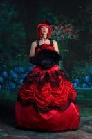 Madame Red Poised by HollyGloha