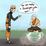 A Rasengan from WHERE? by pura-cera