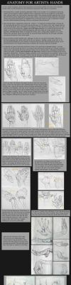 How To Draw Hands by TArthurSmith