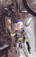 Steampunk Aang by rayne-gallows