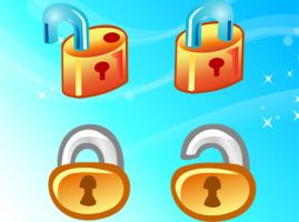 Free Vector Lock Icons by freevectordownload