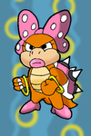 Paper Wendy 'O' Koopa by Tails19950