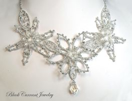 Frosted Flowers by blackcurrantjewelry