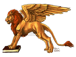 Winged Lion of Venice by ZulayaWolf