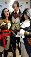 Assassin's Creed - Three Assassins by Hurlespoir-Amelie