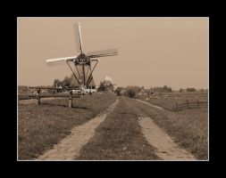 Dutch Windmill 2 by Stevie73
