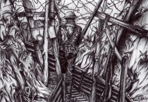 In the Trenches by GianniMiquini