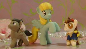 Rumble, Helia Sunflower, and Pipsqueek Blind Bag by SanadaOokmai