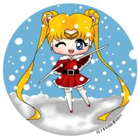 Sailor moon Christmas Outfit by MistifiedMistress