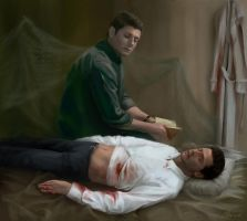 Destiel by Alex-JD-Black