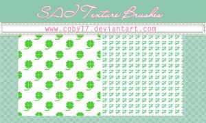 Clovers Brushes for Paint Tool SAI by Coby17