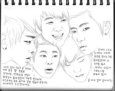 Zico Face Collage by GabbeyMarie