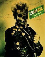 Billy Idol goes ZOMIE by Moreno10