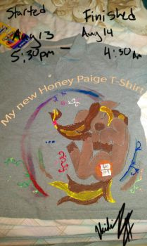 My Own MLP Honey Paige T-shirt by chatqueenpr